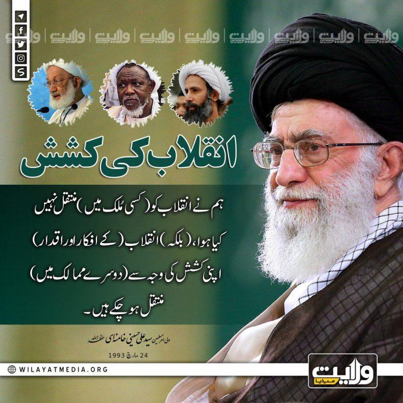 انقلاب کی کشش | ولیِ امرِ مسلمین جہان سید علی خامنہ ای  (حفظہ اللہ)